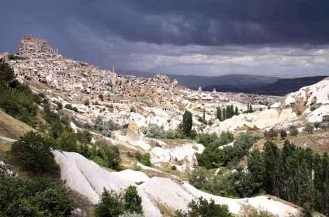 Forteresse d'Uçhisar, Cappadoce - Turquie -