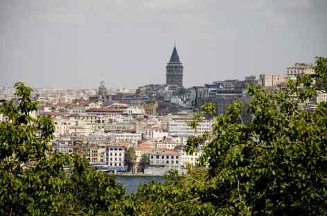 Istanbul, tour de Galata - Turquie -
