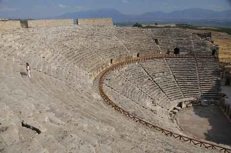 Théatre antique à Hiérapolis - Turquie -