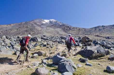 Trek en direction du Camp II, Mont Ararat - Turquie -