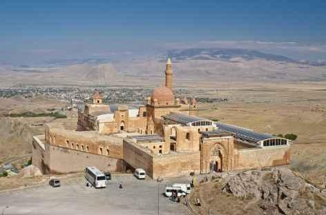 Palais d'Ishak Pasa, dominant la ville de Dogubeyazit - Turquie -