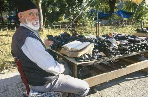 Marchand de chaussures à Erzurum -