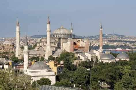 Basilique Sainte Sophie, Istanbul - Turquie -