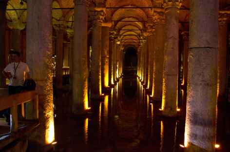 Citerne-basilique à Istanbul - Turquie -