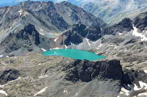Lac de Buyukdeniz, massif du Kackar -