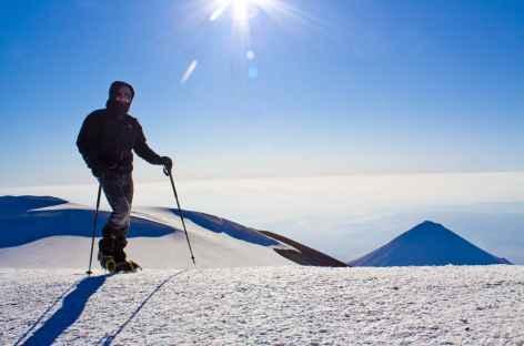 Crête sommitale du Mont Ararat (5137 m) -