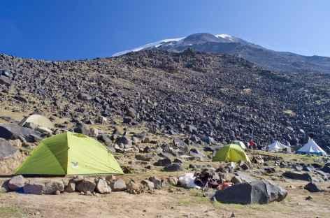 Camp I (3300 m) du Mont Ararat -