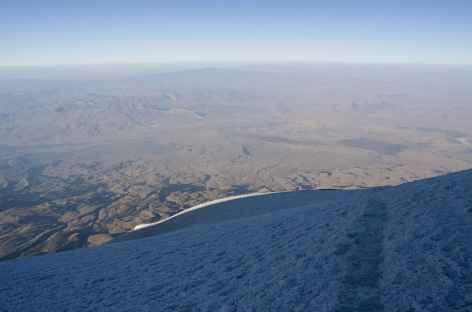 Pentes finales de l'Ararat -