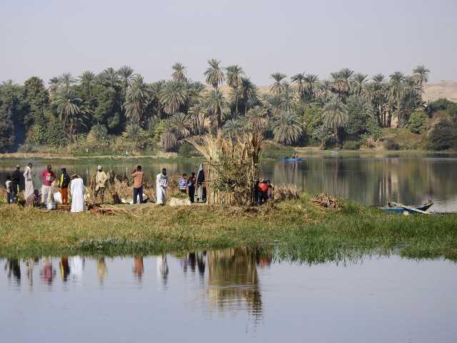 Sur les berges fertiles du Nil, Egypte, © Julien Erster - TIRAWA