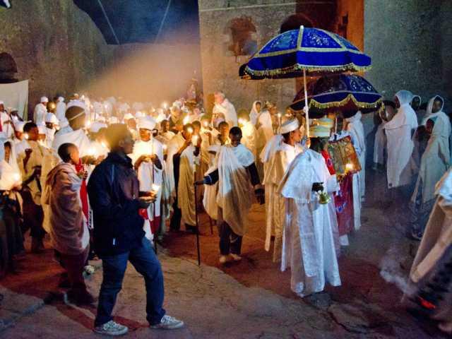 Lalibela, lors de la fête de Fasika (Pâques) - Ethiopie, © Julien Erster - TIRAWA