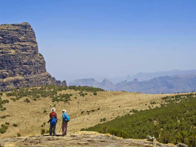 Trek entre Imet Gogo et Inatye, montagnes du Simien - Ethiopie, © Julien Erster - TIRAWA