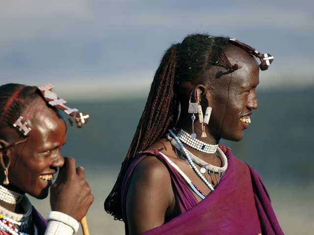 Guerriers masai,