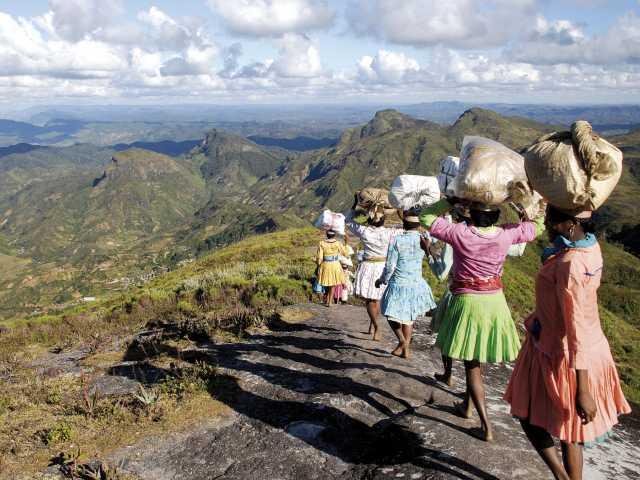 Trek en pays zafimaniry - Madagascar, © Julien Erster - TIRAWA