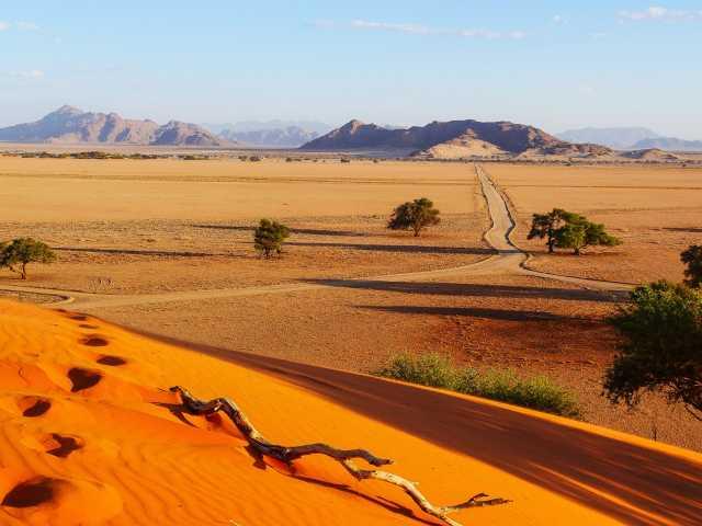Dunes d'Elim à Sesriem - Namibie, © Thierry Monniez - TIRAWA