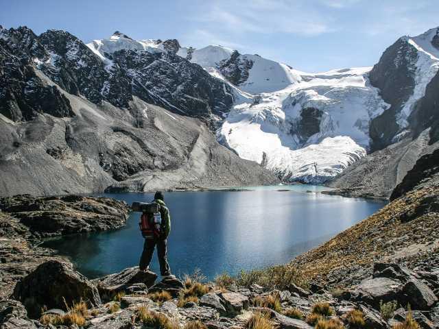 Cordillère Royale, la laguna Wara Warani - Bolivie, © Julien Freidel - TIRAWA