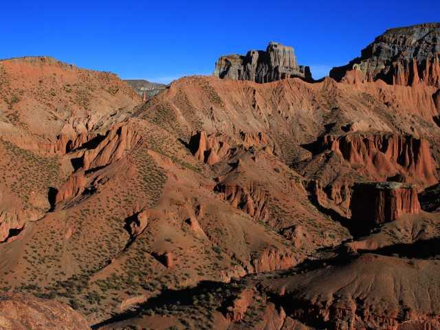 Balade dans les environs de Samawa - Bolivie, © Loïc Chetail