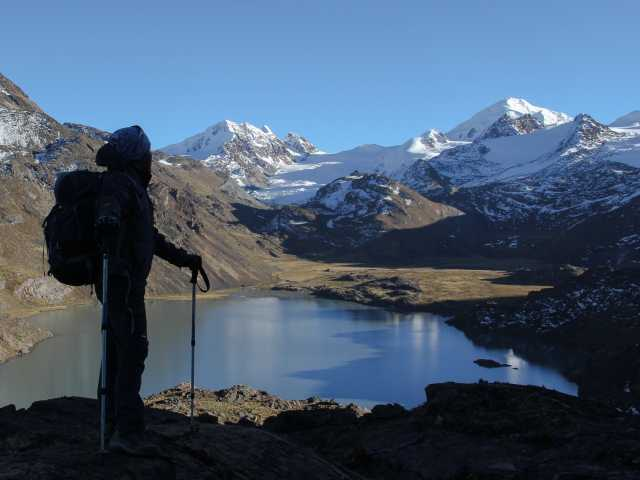 Vue depuis le mirador du Chaupi Orco - Bolivie, © Julien Freidel - TIRAWA