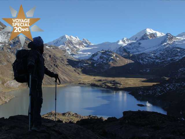 Depuis le mirador de Chaupi Orco - Bolivie, © Julien Freidel - TIRAWA
