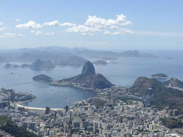 Rio, panorama depuis le Corcovado - Brésil, © Julien Freidel - Tirawa