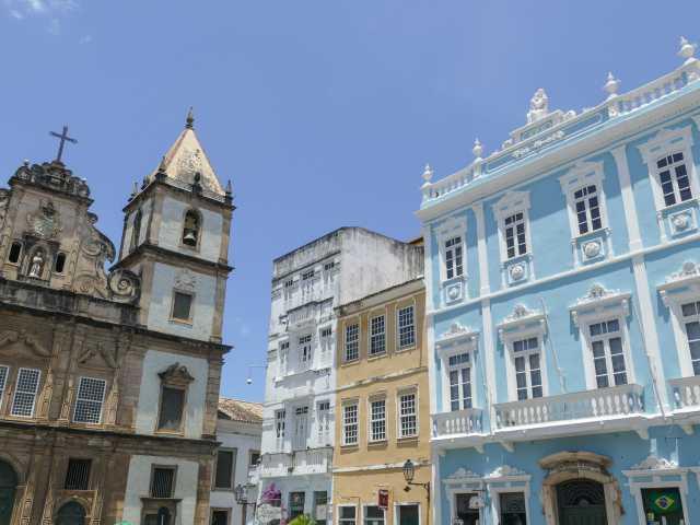 Salvador de Bahia, quartier du Pelourhino - Brésil, © Julien Freidel - Tirawa