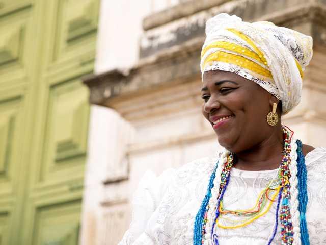 Salvador de Bahia, une bahianaise - Brésil, © Tirawa