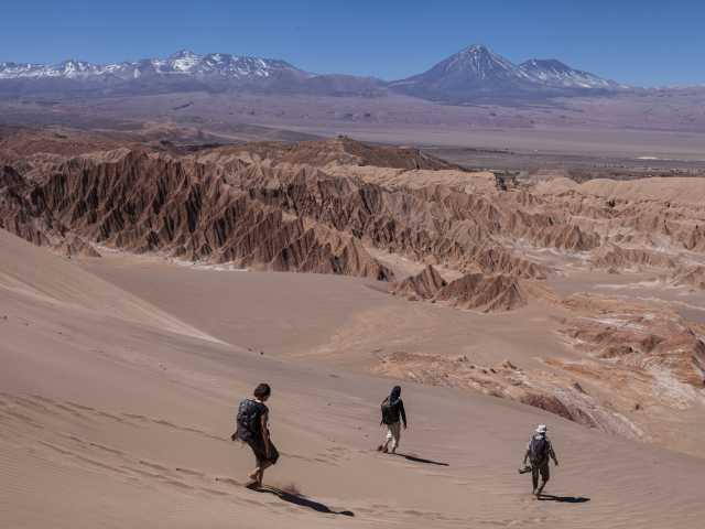 Balade dans la Cordillère de Sel à San Pedro de Atacama - Chili, © Christian Leroy - Tirawa