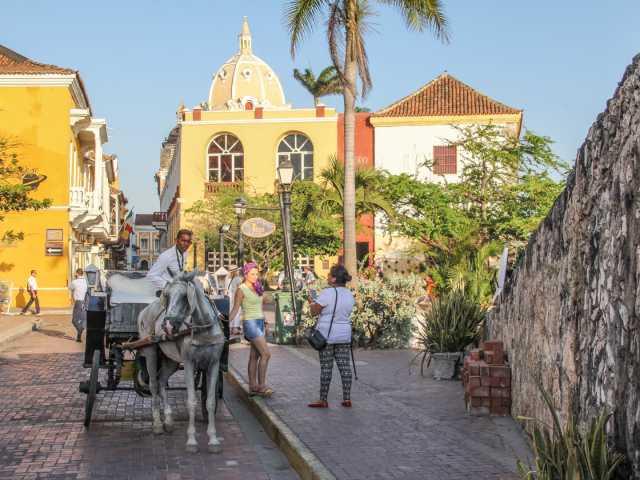 Balade dans les rues de Carthagène - Colombie, © Julien Freidel - Tirawa