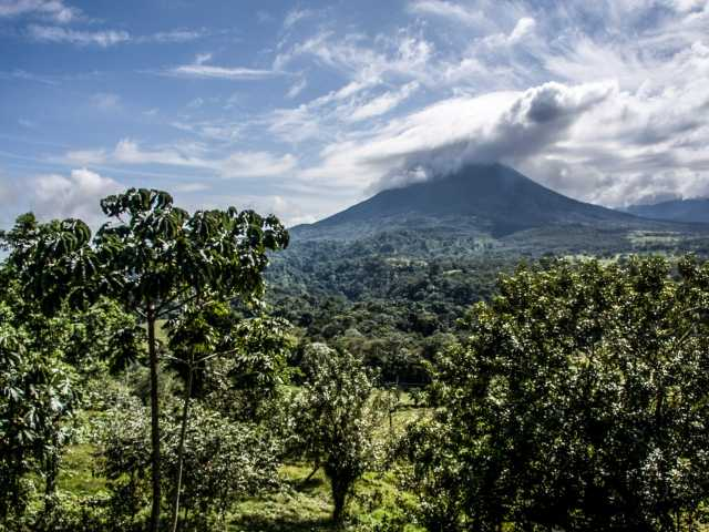 Jolie vue sur le volcan Arenal - Costa Rica, © Julien Freidel - TIRAWA