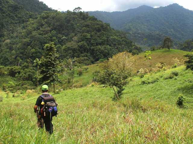 Trek, arrivée à La Chaqueta - Costa Rica, © Julien Freidel - TIRAWA
