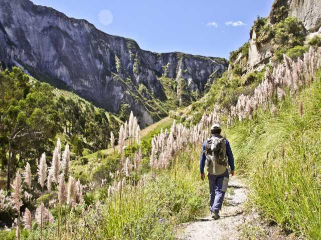 Dans le canyon de Toachi - Equateur, © Julien Freidel - TIRAWA