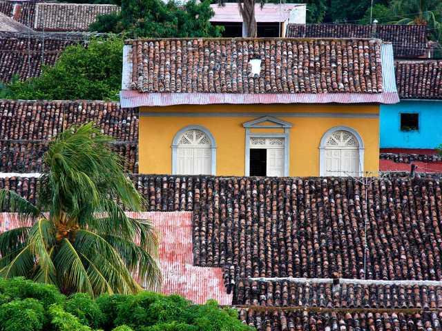 Une maison typique de Granada - Nicaragua, © Julien Freidel - TIRAWA