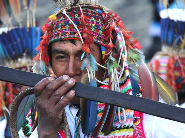 Pendant la fête de Qollurity - Pérou, © Julien Freidel - Tirawa