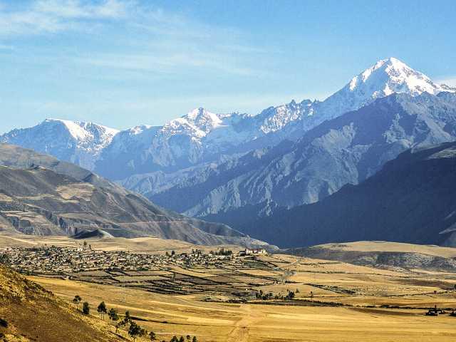 Panorama sur la Vallee Sacrée, © Stéphane Vallin