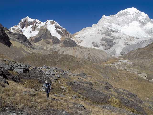 Marche vers le camp de base du Santa Cruz - Pérou, © Christian Juni - TIRAWA