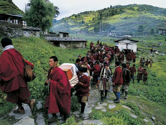 Pays Brokpas - Bhoutan, © Robert Dompnier  - Tirawa
