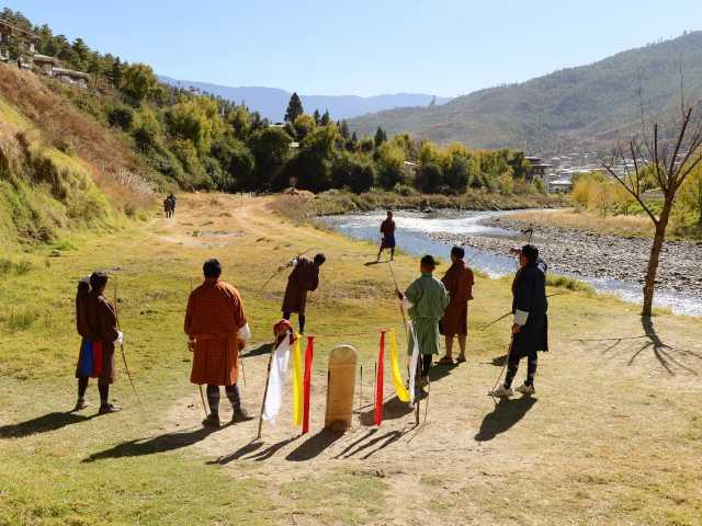 Sport national - Bhoutan, © Guillaume Chenot - Tirawa