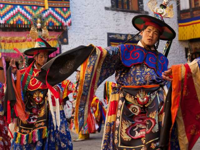 Tsechu de Paro  - Bhoutan, © Christian Juni - Tirawa