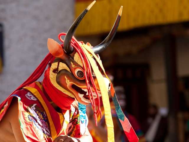 Les danses masquées  - Bhoutan, © Christian Juni - Tirawa