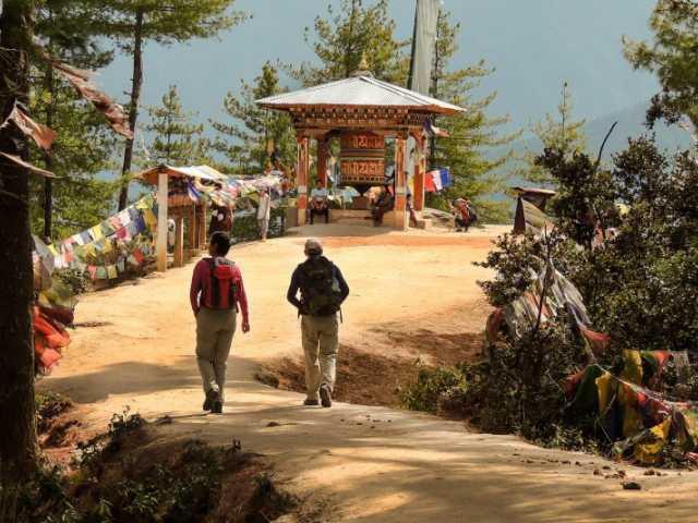 Sur les sentiers du Bhoutan, © Robert Dompnier - Tirawa