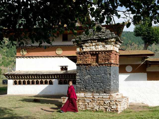 Punakha - monastère de Chhimi Lhakhang - Bhoutan, © Robert Dompnier -Tirawa