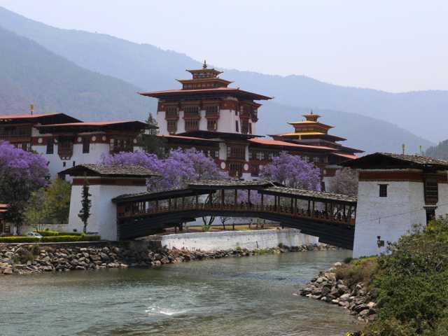 Dzong de Punakha-Bhoutan, © Christian Leroy-Tirawa
