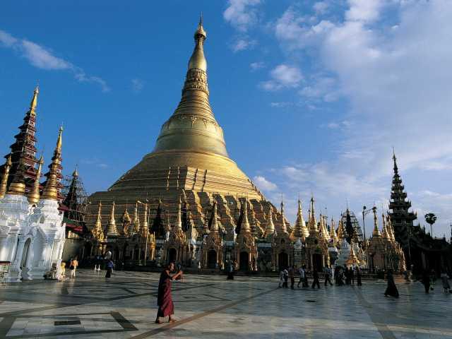 Pagode Shwedagon - Yangon - Birmanie, © Robert Dompnier - Tirawa