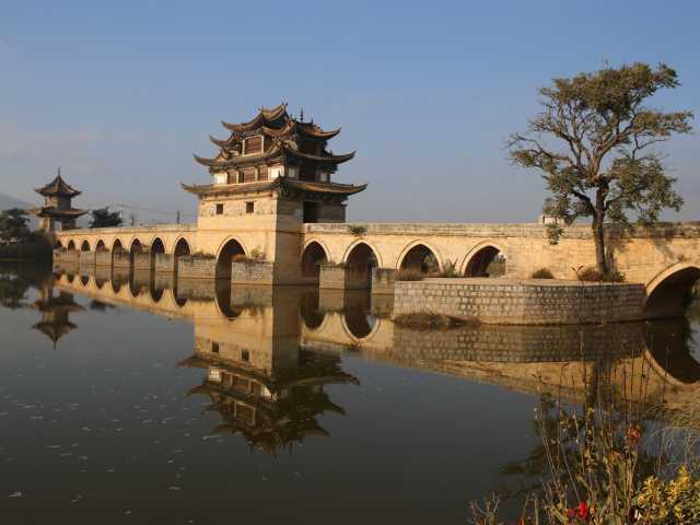 Le pont des deux dragons Yunnan, © Christian Leroy - Tirawa