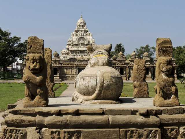 Temple à Kanchipuram, Inde du Sud, © Guillaume Chenot - Tirawa