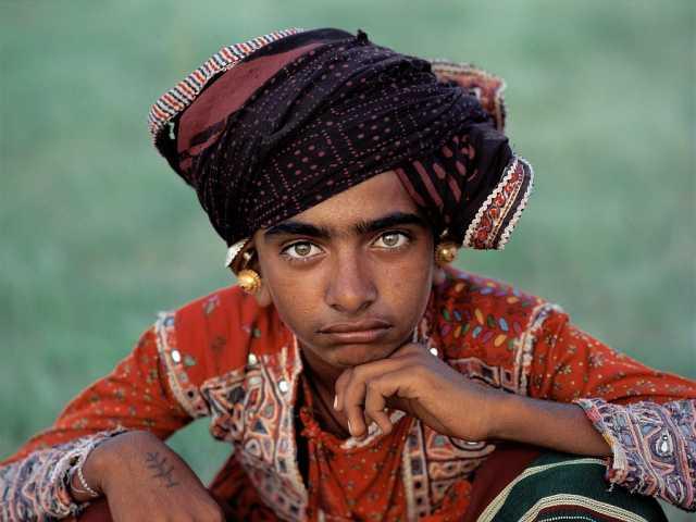 Jeune homme du Gujarat, © Olivier Föllmi