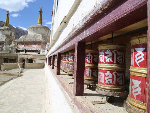 Moulins à prières à Lamayuru - Ladakh, Inde, © Gautier Renault - Tirawa