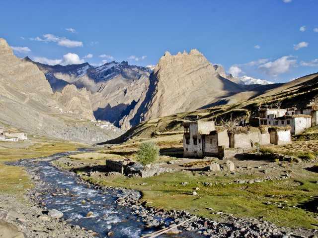Village de Photoksar, Zanskar - Inde, © Julien Erster - Tirawa