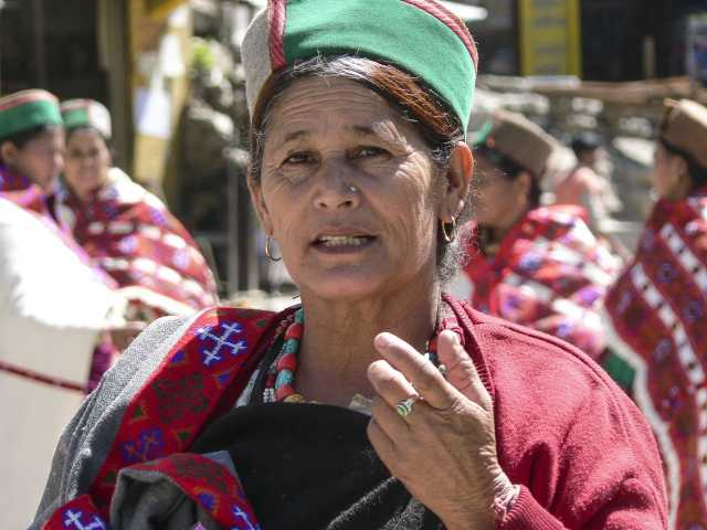 Femme du Kinnaur, © Snafu - Tirawa