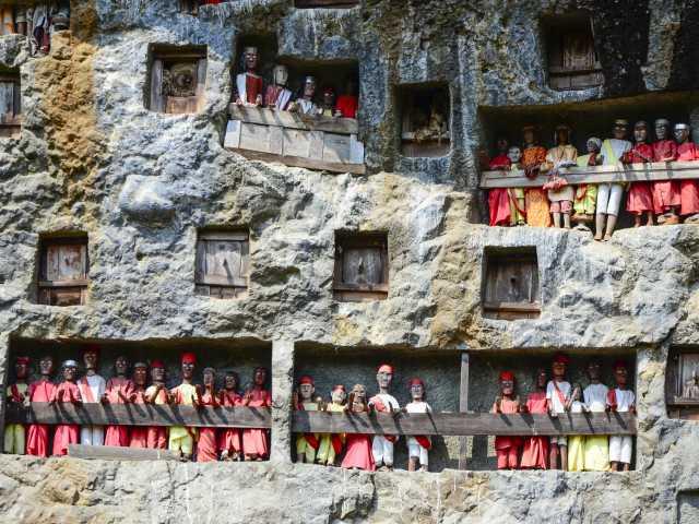 Site funéraire de Lemo, Pays Toraja, Sulawesi - Indonésie, © Julien Erster - TIRAWA