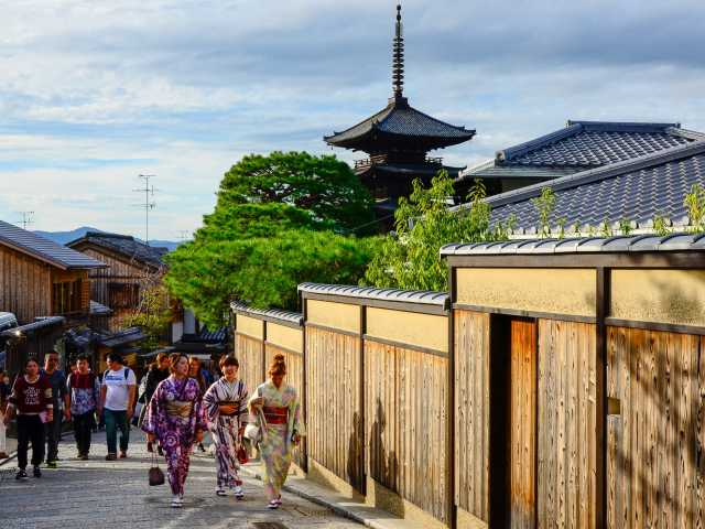 Quartier Higashiyama, Kyoto - Japon, © Julien Erster - TIRAWA